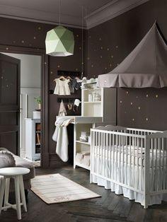 Dreamy gender neutral nursery