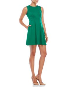 """Check out """"Petite Sleeveless A-Line Dress"""" from Century 21"""