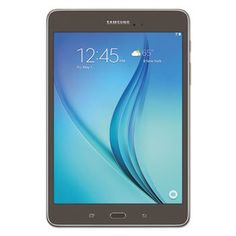 "Buy Galaxy Tab A 8.0"" Tablet, 16 Gb, Wi-Fi, Smoky Titanium NEW for 253.86 USD 