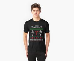 Nurse-Ugly Christmas Sweater6 by FunnyMusicNotes