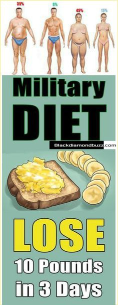 Military Diet Plan Is the 3-Day Military Diet Best for Weight Loss - Day 1 of the 3-day military diet. Total daily calories: 857 calories. Eating ice cream to lose weight? Here is the real scoop on this popular diet you're dying to read. #3daydiet #diet #militarydietplan #health