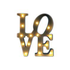 Letras Luminosas Decorativas LOVE