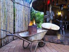 Shabeen Shanty Chic, Tent Living, 21st Party, South African Recipes, Homestead Living, Party Themes, Party Ideas, Wheelbarrow, Garden Tools