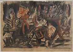 At Manchester Art Gallery: The Sensory War – That's How The Light Gets In Ww1 Art, Manchester Art, Painting & Drawing, David Bomberg, Art Gallery, War, Artist, Image, Art Museum