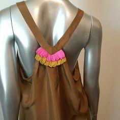 MILLY NEW YORK Silk Tunic Top Size 6 Simply adorable   Good condition   Razor back   Pull-on style   Fabrication -100% Silk   Color- vibrant pink,chartreuse the main color (pretty! but not  sure of color   Feel free to contact me with any questions or concerns   Thank you for looking into my closet milly new york  Tops Tunics
