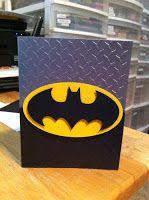 Batman Card...Scrap Rx