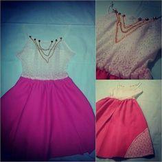 #pinkdress #lacedress  Čipkana sa lancima samo jedna dostupna