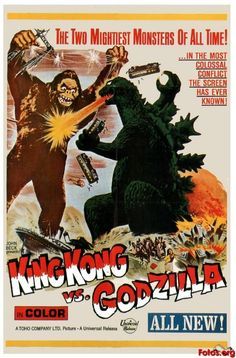 Movie-Poster-King-Kong-vs-Godzilla
