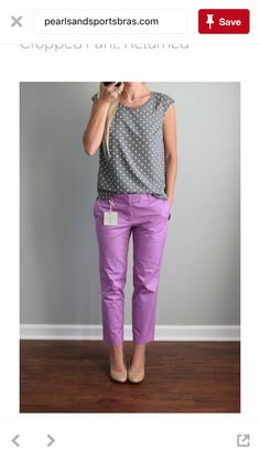 */^ Still Available? I LOVE these cropped pants & color (they look lavender)