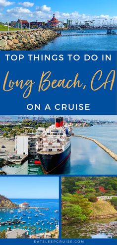 Top Things to Do in Long Beach, CA on a Cruise   EatSleepCruise.com. If you are departing on the new Carnival Panorama, check out our list of the Top Things to Do in Long Beach, CA before or after your cruise vacation. #cruise #California #thingstodo #LongBeach #eatsleepcruise Packing For A Cruise, Cruise Travel, Cruise Vacation, Travel Usa, Vacations, California Destinations, Cruise Destinations, California Vacation, Southern California