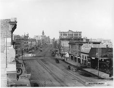 Main Street, Winnipeg, MB, 1887-----vintage everyday: Old Photographs of Canada from 1858-1935