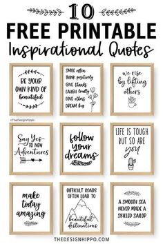 Free Printable Quotes, Printable Wall Art, Free Printables, Free Printable Scripture, Printable Labels, Plotter Silhouette Portrait, Free Inspirational Quotes, Bible Motivational Quotes, Funny Quotes