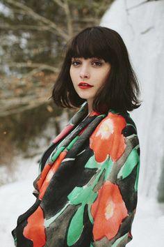 leah goren f/w 2014 scarves