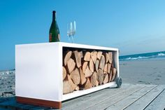 12 Most Creative Firewood Storage Ideas