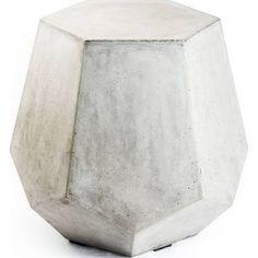 outdoor accent table set concrete - Google Search