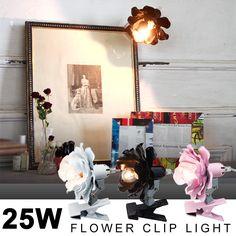 【楽天市場】フラワークリップ (FLOWER CLIP) クリップライト 002356:フォーアニュ