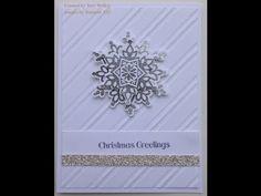 Festive Flurry Christmas Card