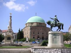 Pecs, culturele hoofdstad 2010 in Hongarije.