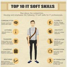 Soft skills for a career in IT  #SoftSkills #ITCareer