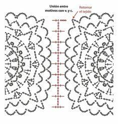 Delicadezas en crochet Gabriela: Vestidos paso a paso