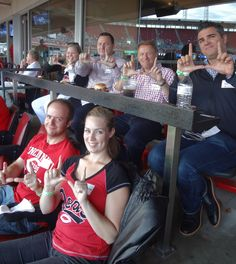 A great time for David Eccles School of Business alumni to connect and watch the Reds take on the Dodgers