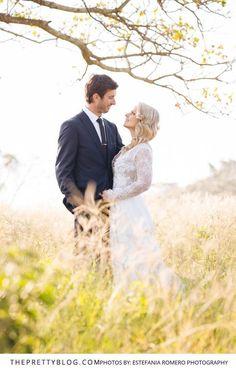 An Authentic, Eco & Fuss-Free Wedding Celebration | Real Weddings | Wedding Couple Inspiration | Photograph by Estefania Romero Photography