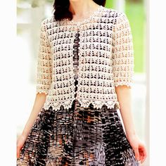 crochet kingdom (E.H): Crochet For Women..Pretty and lacy top.. Free pattern!