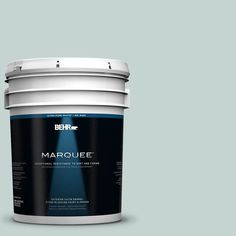 BEHR MARQUEE 5-gal. #490E-3 Celtic Gray Satin Enamel Exterior Paint