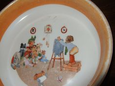 Baby Dishes, Baby Plates, Kitchenware, Tableware, Crescent City, Peter Rabbit, Royal Doulton, Autism, Childhood
