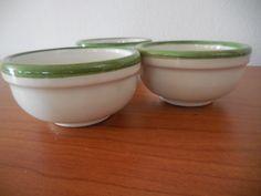 H 230  N. 3 TAZZINE  O CIOTOLINE IN CERAMICA DECORATE - http://www.okaffarefattofrascati.com/?product=h-230-n-3-tazzine-o-ciotoline-in-ceramica-decorate