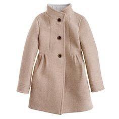 Girls' stadium-cloth marquee coat - all dressed up - Girl's Girl_Special_Shops - J.Crew nov2012
