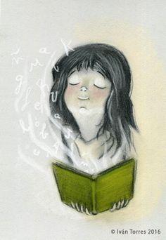 Las palabras nos atrapan, cobran vida con cada lectura (ilustración de Iván Torres)