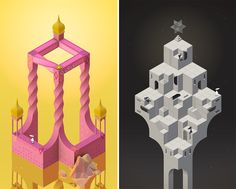 Explore Eight New Mind-Bending Worlds in Monument Valley's 'Forgotten Shores' Isometric Shapes, Isometric Art, Monument Valley Game, App Of The Day, Colossal Art, Science Art, Science Fiction, Shape Design, Conceptual Art