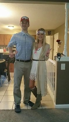 Forrest Gump and Jenny Halloween- Couples costume!