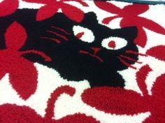 Detail of cat rug Sonia