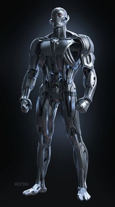 Josh Herman- Ultron Final Render- My final model that was handed off to VFX for the movie- Avengers: Age of ULTRON Marvel Avengers Games, Marvel E Dc, Marvel Comic Universe, Avengers Age, Marvel Cinematic Universe, Ultron Marvel, Age Of Ultron, Black Anime Characters, Marvel Characters