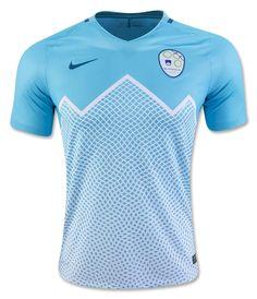 Slovenia (Nogometna zveza Slovenije) - 2016 2017 Nike Away Shirt Uniformes  Futebol ba695fd9b187a