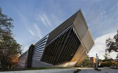 Zaha Hadid's Eli and Edythe Broad Art Museum opens in Michigan