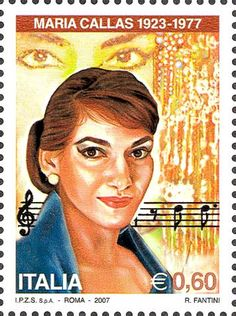 Opera singer Maria Callas was born in New York City. She sang classical opera and added great drama to her performances.