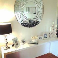 Ikea malm black white decor