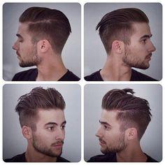 New hair art for men mens fashion Ideas Undercut Men, Undercut Hairstyles, Boy Hairstyles, Trendy Hairstyles, Hairstyle Men, Perfect Hairstyle, Shaved Side Hairstyles Men, Undercut Styles, Undercut Pompadour