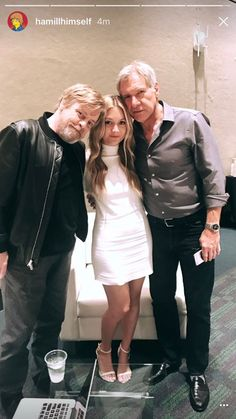 Mark, Harrison and Carrie's Daughter Billie