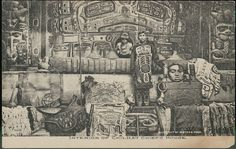 Interior of Chilkat Chief's House