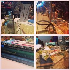 "Via @Divina Shelley - ""I love the goodies on our table and such great decor!"" #leadingandlovingit #retreat #nashville"