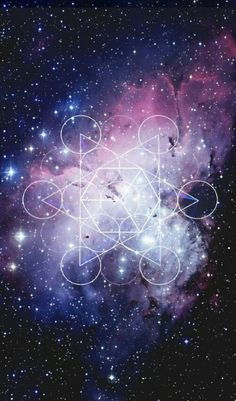 Galaxy Art | Sacred Geometry Wallpaper | Android
