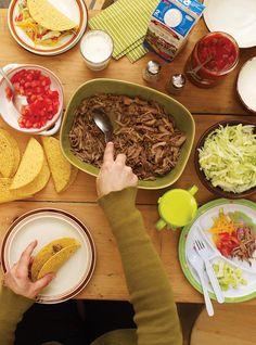 Tacos de porc à la salsa verde Recettes | Ricardo