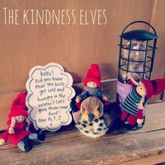 Next yr stinker may bring kindness elves -- birdfeeder Preschool Christmas, Christmas Elf, Christmas Angels, Christmas Service, Christmas 2019, Advent Activities, Christmas Activities, Christmas Traditions, Holiday Crafts