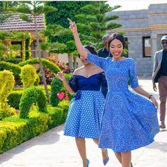 Trending Shweshwe dresses 2020 for women African Inspired Fashion, African Fashion, Shweshwe Dresses, African Traditional Dresses, African Dress, Fashion Outfits, Womens Fashion, Style Inspiration, Stylish