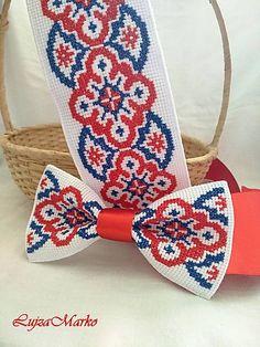 Prídi ty šuhajko ráno k nám opasok / LujzaMarko - SAShE. Easy Cross Stitch Patterns, Cross Stitch Borders, Simple Cross Stitch, Cross Stitch Designs, Cross Stitching, Folk Embroidery, Embroidery Stitches, Diy Curtains, Mehndi Designs