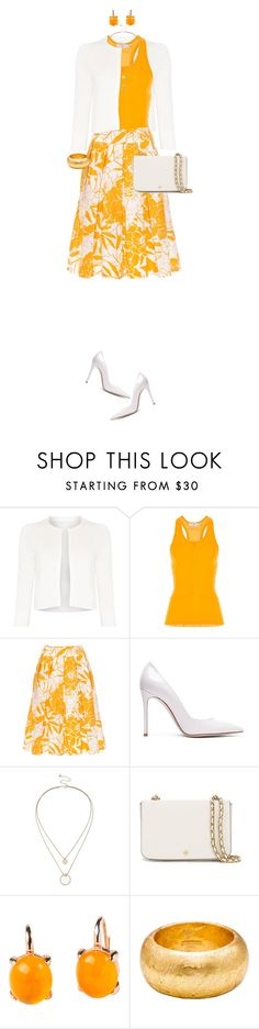 """""""Bright Tank Top For Spring"""" by ittie-kittie on Polyvore featuring HUGO, adidas, Gianvito Rossi, Sole Society, Tory Burch, Rina Limor, Évocateur, tanktop, SpringStyle and springfashion"""